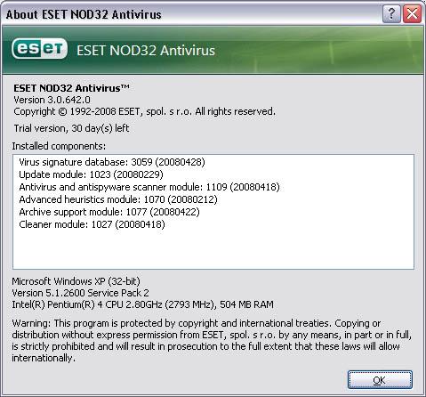 nod32 latest version 32 bit